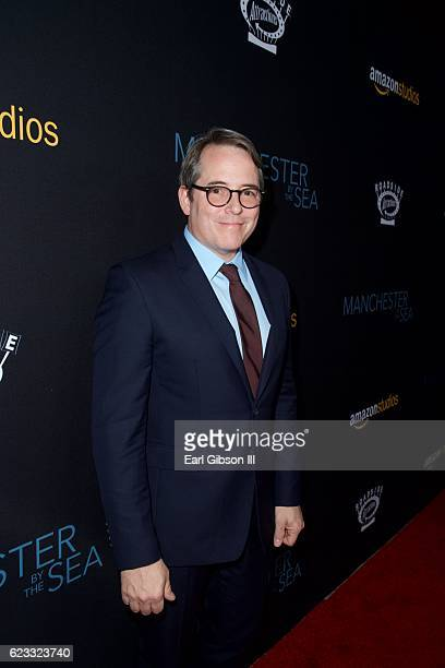 Actor Matthew Broderick attends the Premiere Of Amazon Studios 'Manchester By The Sea' at Samuel Goldwyn Theater on November 14 2016 in Beverly Hills...