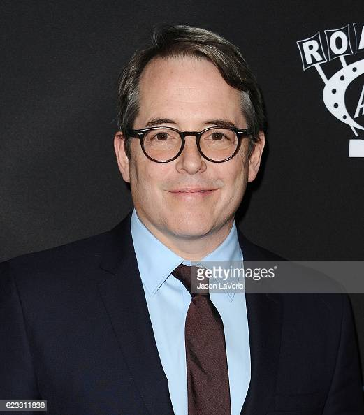 Actor Matthew Broderick attends the premiere of 'Manchester by the Sea' at Samuel Goldwyn Theater on November 14 2016 in Beverly Hills California