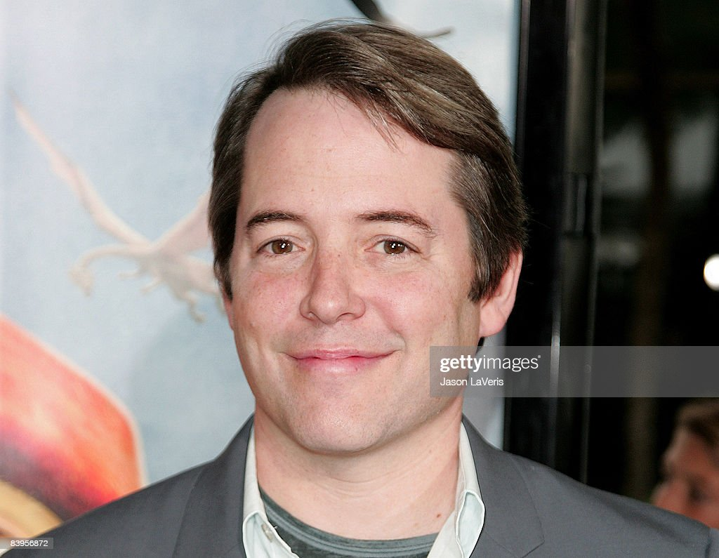 Actor Matthew Broderick attends the premiere of 'The Tale of Despereaux' at the Arclight Theater on December 7, 2008 in Hollywood, California.