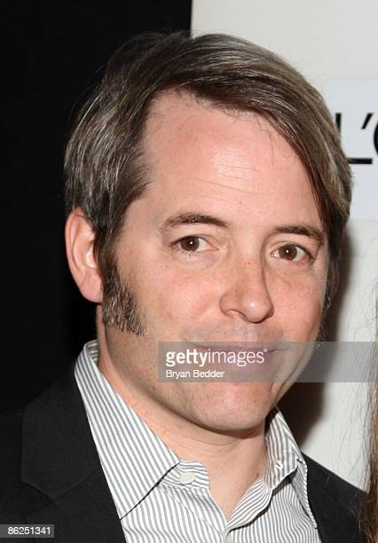 Actor Matthew Broderick attends the premiere of 'Wonderful World' during the 2009 Tribeca Film Festival at BMCC Tribeca Performing Arts Center on...