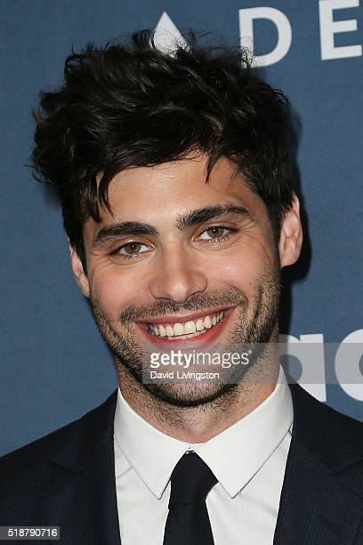Actor Matthew Daddario arrives at the 27th Annual GLAAD Media Awards at The Beverly Hilton Hotel on April 2 2016 in Beverly Hills California
