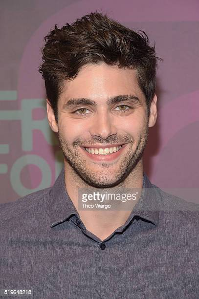 Actor Matthew Daddario attends 2016 ABC Freeform Upfront at Spring Studios on April 7 2016 in New York City