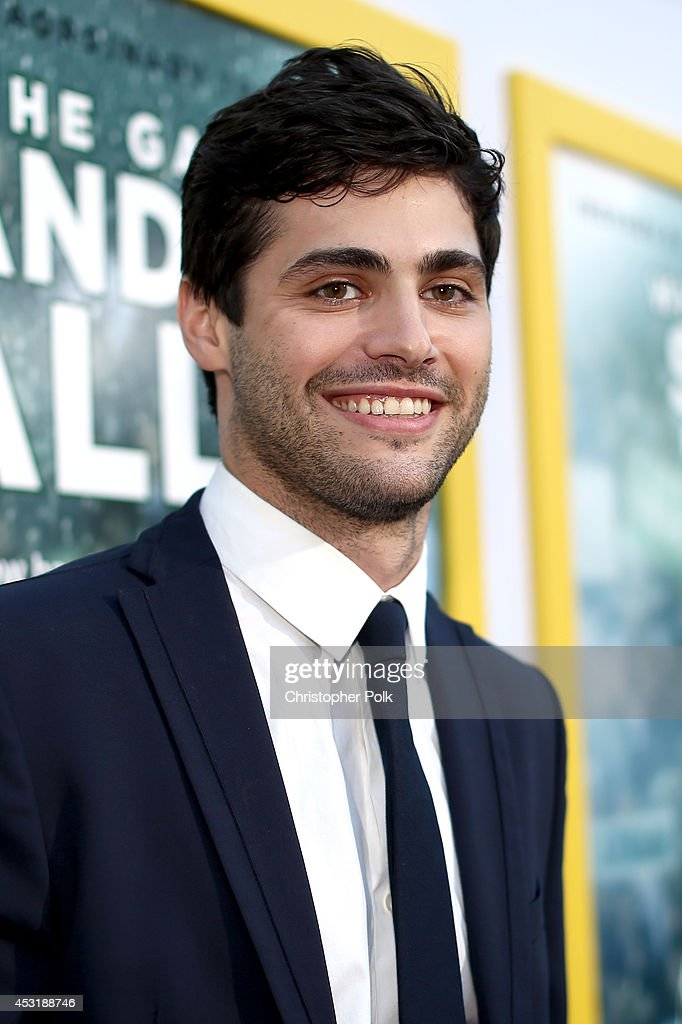 Actor <a gi-track='captionPersonalityLinkClicked' href=/galleries/search?phrase=Matthew+Daddario&family=editorial&specificpeople=10127134 ng-click='$event.stopPropagation()'>Matthew Daddario</a> attends the premiere of Tri Star Pictures' 'When The Game Stands Tall' at ArcLight Cinemas on August 4, 2014 in Hollywood, California.
