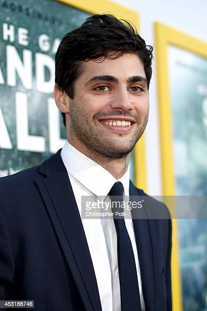 Actor Matthew Daddario attends the premiere of Tri Star Pictures' 'When The Game Stands Tall' at ArcLight Cinemas on August 4 2014 in Hollywood...