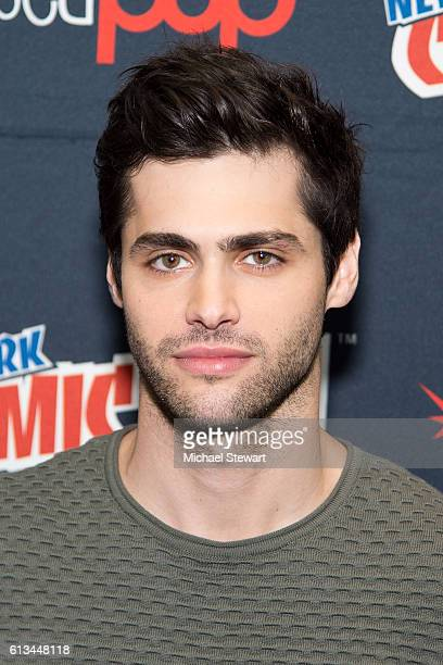 Actor Matthew Daddario attends the Shadowhunters Season 2 QA press room during 2016 New York Comic Con at the Jacob Javitz Center on October 8 2016...