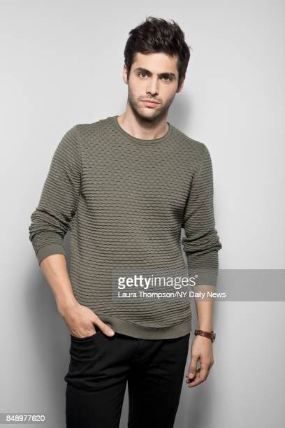 Actor Matthew Daddario is photographed for NY Daily News on October 8 2016 at Comic Con in New York City CREDIT MUST READ Laura Thompson/New York...