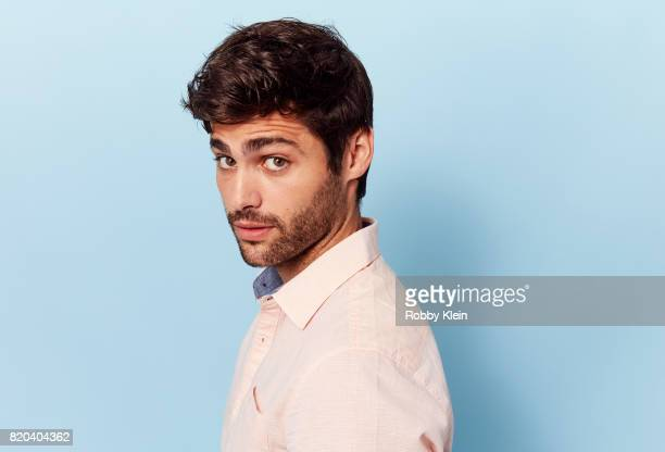 Actor Matthew Daddario of Freeform's 'Shadowhunters' poses for a portrait during ComicCon 2017 at Hard Rock Hotel San Diego on July 20 2017 in San...
