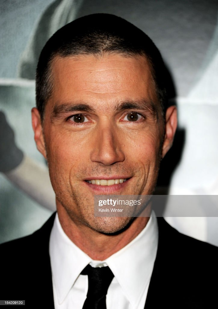 Actor <a gi-track='captionPersonalityLinkClicked' href=/galleries/search?phrase=Matthew+Fox&family=editorial&specificpeople=210674 ng-click='$event.stopPropagation()'>Matthew Fox</a> arrives at the premiere of Summit Entertainment's 'Alex Cross' at the Arclight Theater on October 15, 2012 in Los Angeles, California.