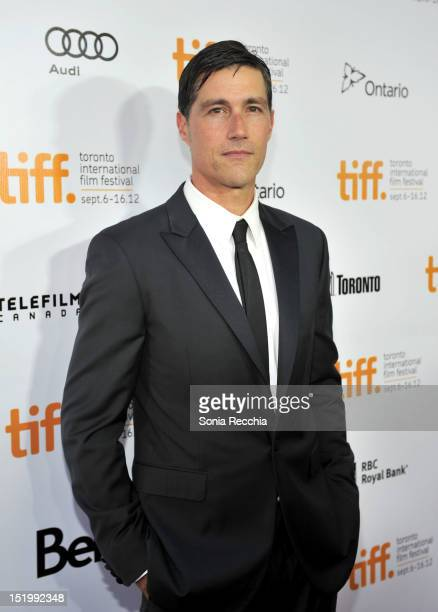 Actor Matthew Fox attends 'Emperor' premiere during the 2012 Toronto International Film Festival at Roy Thomson Hall on September 14 2012 in Toronto...