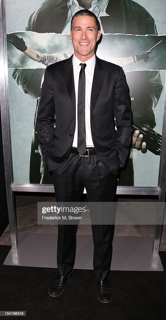 Actor <a gi-track='captionPersonalityLinkClicked' href=/galleries/search?phrase=Matthew+Fox&family=editorial&specificpeople=210674 ng-click='$event.stopPropagation()'>Matthew Fox</a> attends the Premiere Of Summit Entertainment's 'Alex Cross' at the ArcLight Cinemas Cinerama Dome on October 15, 2012 in Hollywood, California.