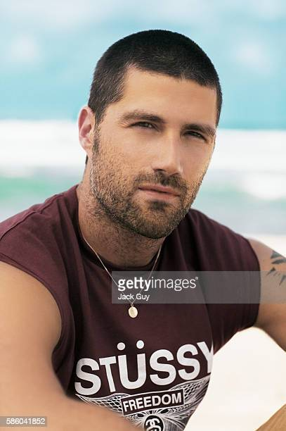 Actor Matthew Fox is photographed for TV Guide Magazine on October 4 2004 COVER IMAGE
