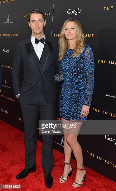 Actor Matthew Goode and Sophie Dymoke attend the 'The Imitation Game' New York Premiere at Ziegfeld Theater hosted by Weinstein Company on on...