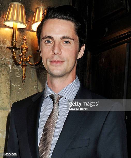 Actor Matthew Goode attends as Tommy Hilfiger hosts a cocktail party to celebrate the launch of London Collections Men at The Scotch of St James...
