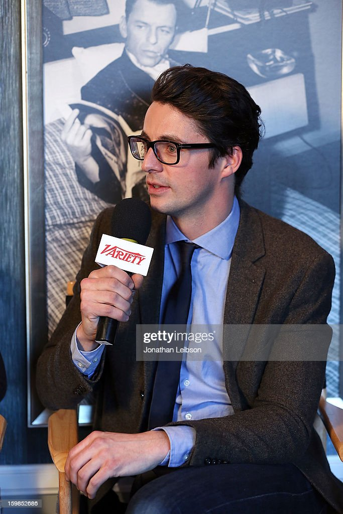 Actor Matthew Goode attends Day 3 of the Variety Studio At 2013 Sundance Film Festival on January 21, 2013 in Park City, Utah.