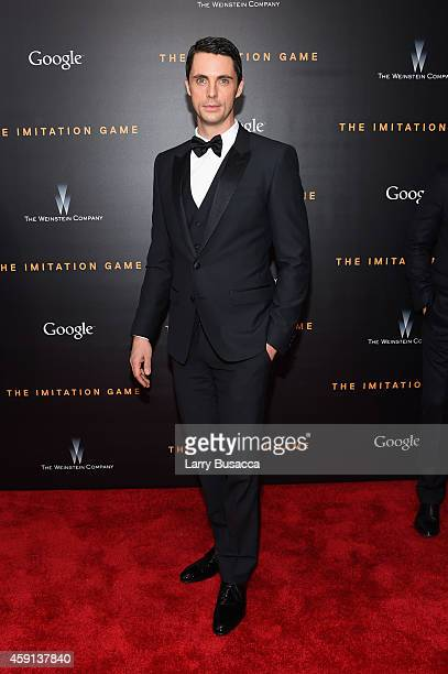 Actor Matthew Goode attends the 'The Imitation Game' New York Premiere at Ziegfeld Theater on November 17 2014 in New York City