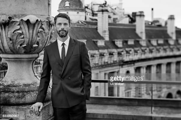Actor Matthew Goode is photographed for Corriere della Sera magazine on November 15 2016 in London England