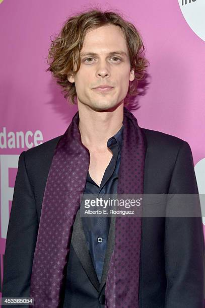 Actor Matthew Gray Gubler attends the screening of 'Life After Beth' with Father John Misty in concert during Sundance NEXT FEST at The Theatre at...