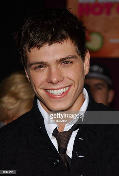 Actor Matthew Lawrence attends the premiere of 'The Hot Chick' at Loews Cineplex Theatres on December 2 2002 in Century City California