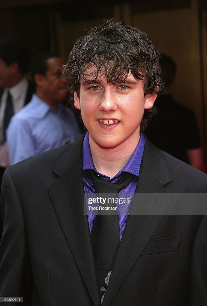 Actor Matthew Lewis attends the Premiere of Harry Potter And The Prisoner of Azkaban at Radio City Music Hall on May 23 2004 in New York City