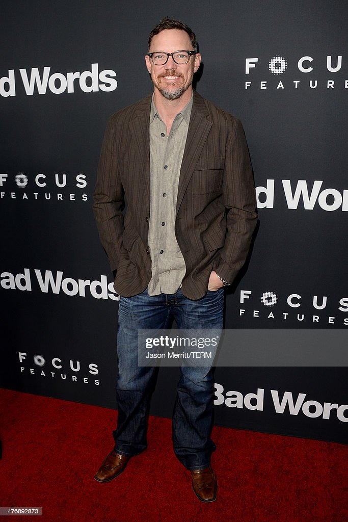 Actor <a gi-track='captionPersonalityLinkClicked' href=/galleries/search?phrase=Matthew+Lillard&family=editorial&specificpeople=206378 ng-click='$event.stopPropagation()'>Matthew Lillard</a> arrives at the premiere of Focus Features' 'Bad Words' at ArcLight Cinemas Cinerama Dome on March 5, 2014 in Hollywood, California.