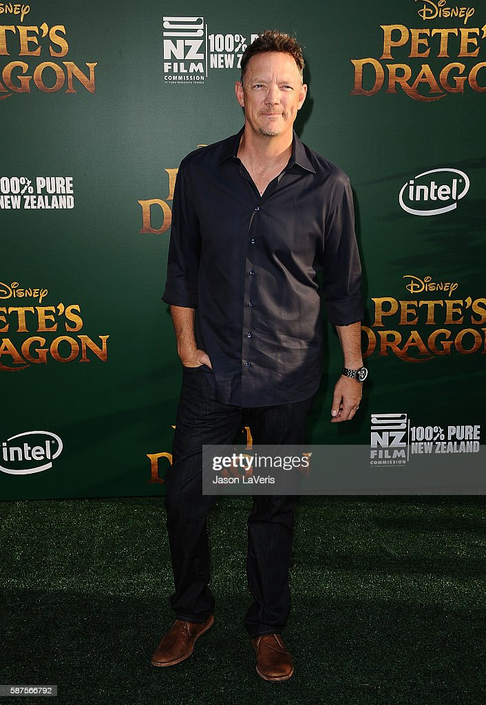 Actor Matthew Lillard attends the premiere of 'Pete's Dragon' at the El Capitan Theatre on August 8 2016 in Hollywood California