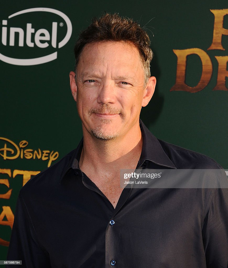 Actor Matthew Lillard attends the premiere of 'Pete's Dragon' at the El Capitan Theatre on August 8, 2016 in Hollywood, California.