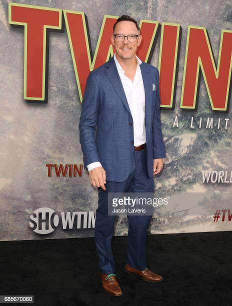Actor Matthew Lillard attends the premiere of 'Twin Peaks' at Ace Hotel on May 19 2017 in Los Angeles California