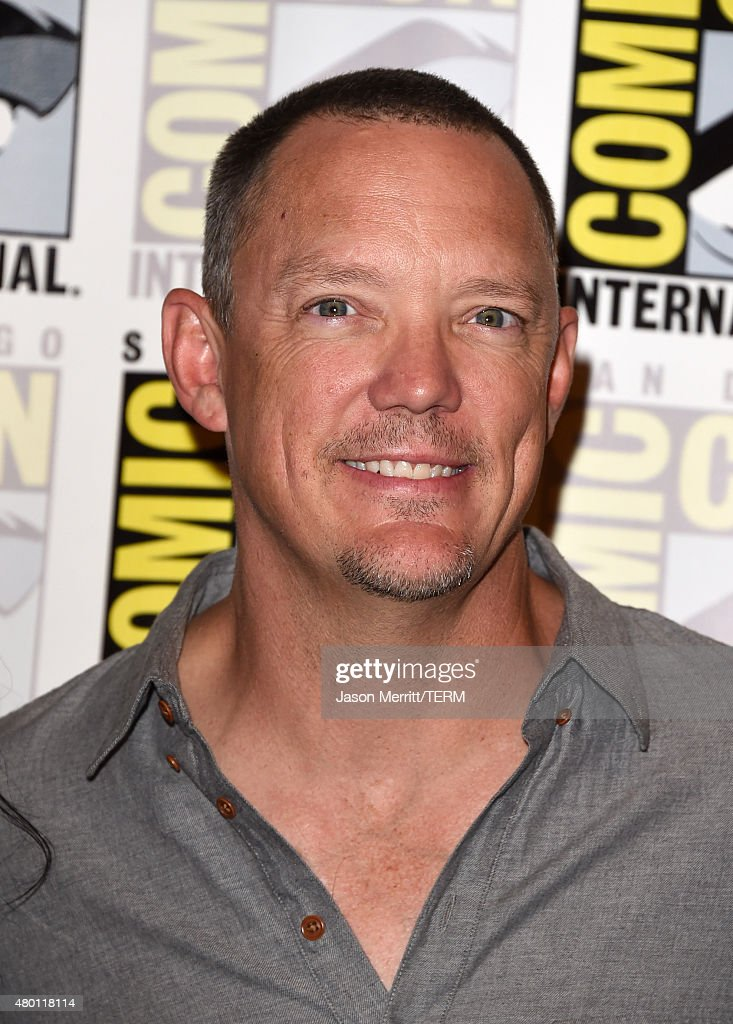 Actor Matthew Lillard attends the Scooby-Doo! and Kiss: Rock and Roll Mystery Press Room during Comic-Con International 2015 at the at Hilton Bayfront on July 9, 2015 in San Diego, California.