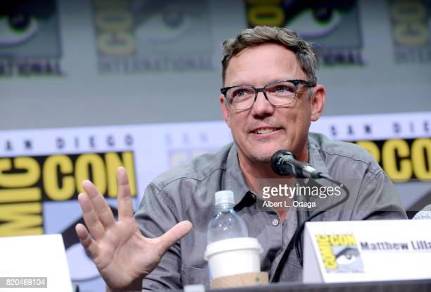Actor Matthew Lillard attends 'Twin Peaks A Damn Good Panel' during ComicCon International 2017 at San Diego Convention Center on July 21 2017 in San...