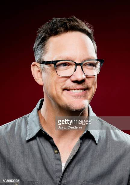 Actor Matthew Lillard from the television series 'Twin Peaks' is photographed in the LA Times photo studio at ComicCon 2017 in San Diego CA on July...