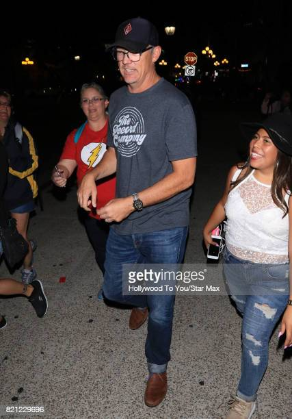 Actor Matthew Lillard is seen on July 22 2017 at Comic Con in San Diego CA