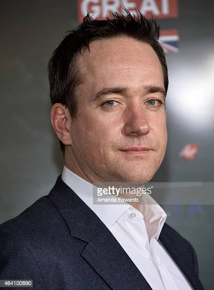 Actor Matthew Macfadyen arrives at the GREAT British Film Reception at The London West Hollywood on February 20 2015 in West Hollywood California