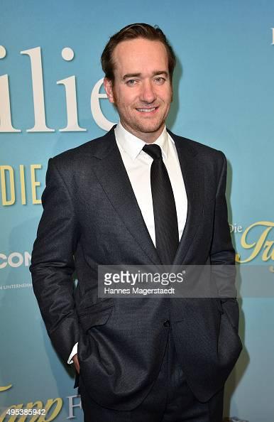 Actor Matthew Macfadyen attends 'Die Trapp Familie Ein Leben fuer die Musik' German Premiere at Gloria Palast on November 2 2015 in Munich Germany