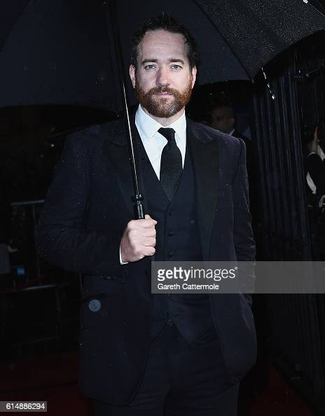 Actor Matthew Macfadyen attends the BFI London Film Festival awards during the 60th BFI London Film Festival at Banqueting House on October 15 2016...