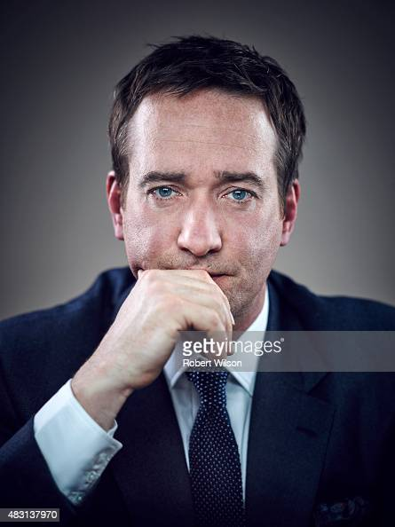 Actor Matthew Macfadyen is photographed for the Times on March 13 2015 in London England