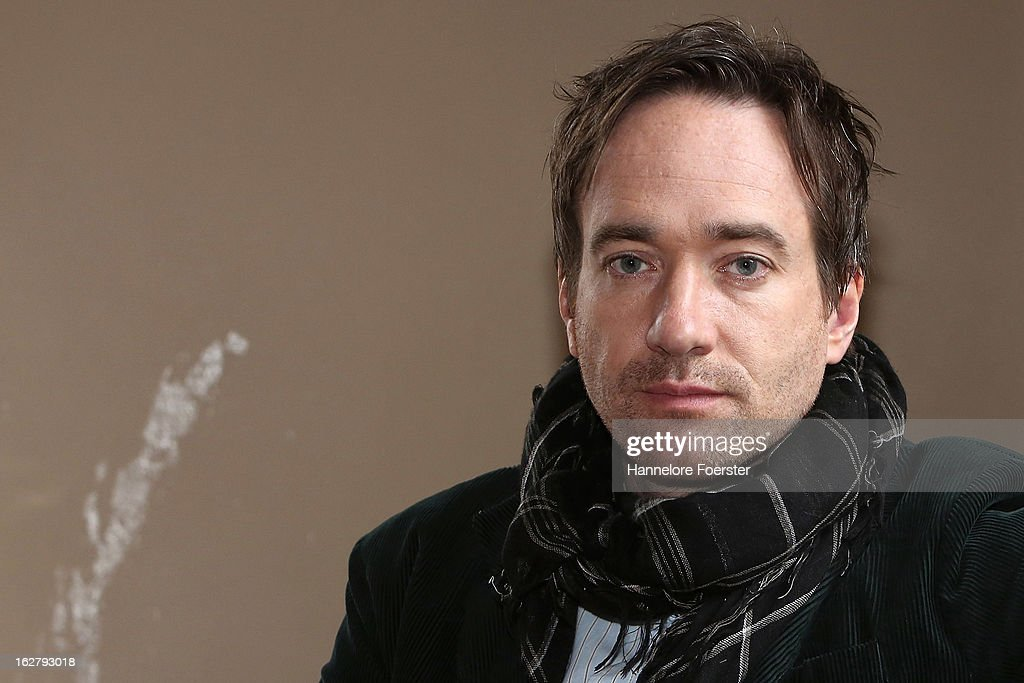 Actor Matthew Macfadyen on set during the filming of movie 'Epic' on February 27, 2013 in Frankfurt am Main, Germany.