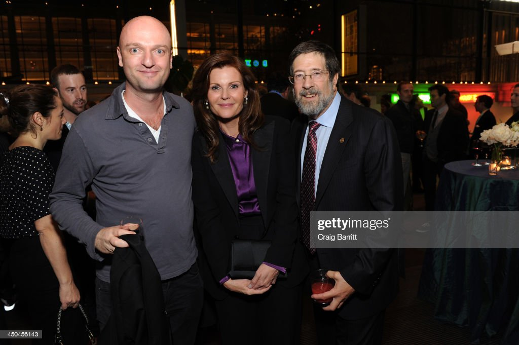 Actor Matthew Maher, Lori Watson and Board of Director James Steinberg attend The 2013 Steinberg Playwright 'Mimi' Awards presented by The Harold and Mimi Steinberg Charitable Trust at Lincoln Center Theater on November 18, 2013 in New York City.