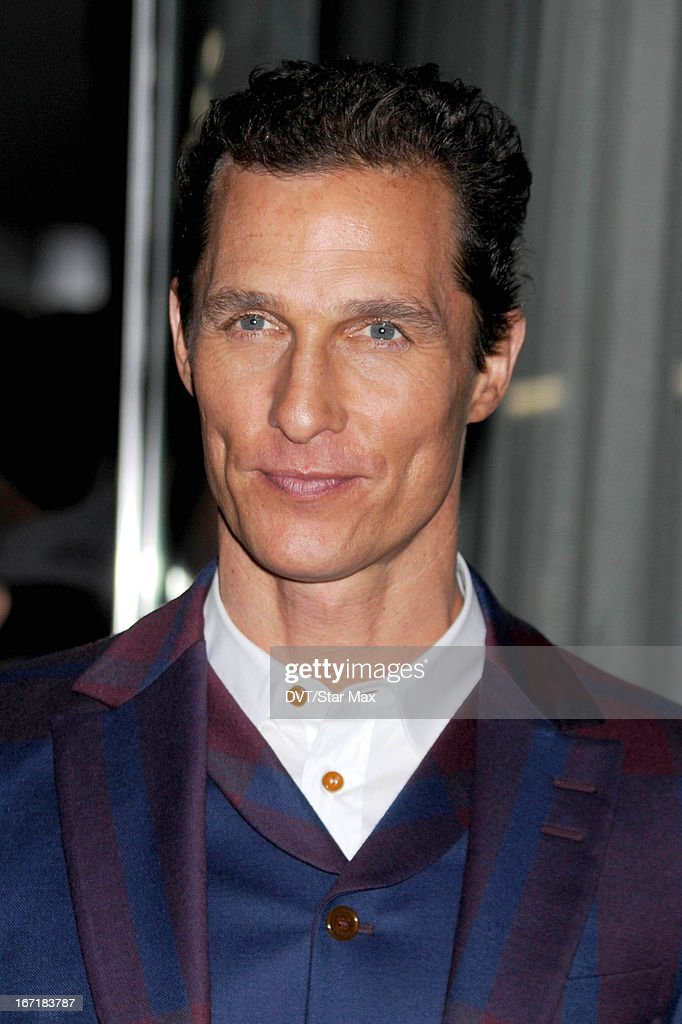 Actor <a gi-track='captionPersonalityLinkClicked' href=/galleries/search?phrase=Matthew+McConaughey&family=editorial&specificpeople=201663 ng-click='$event.stopPropagation()'>Matthew McConaughey</a> as seen on April 21, 2013 in New York City.
