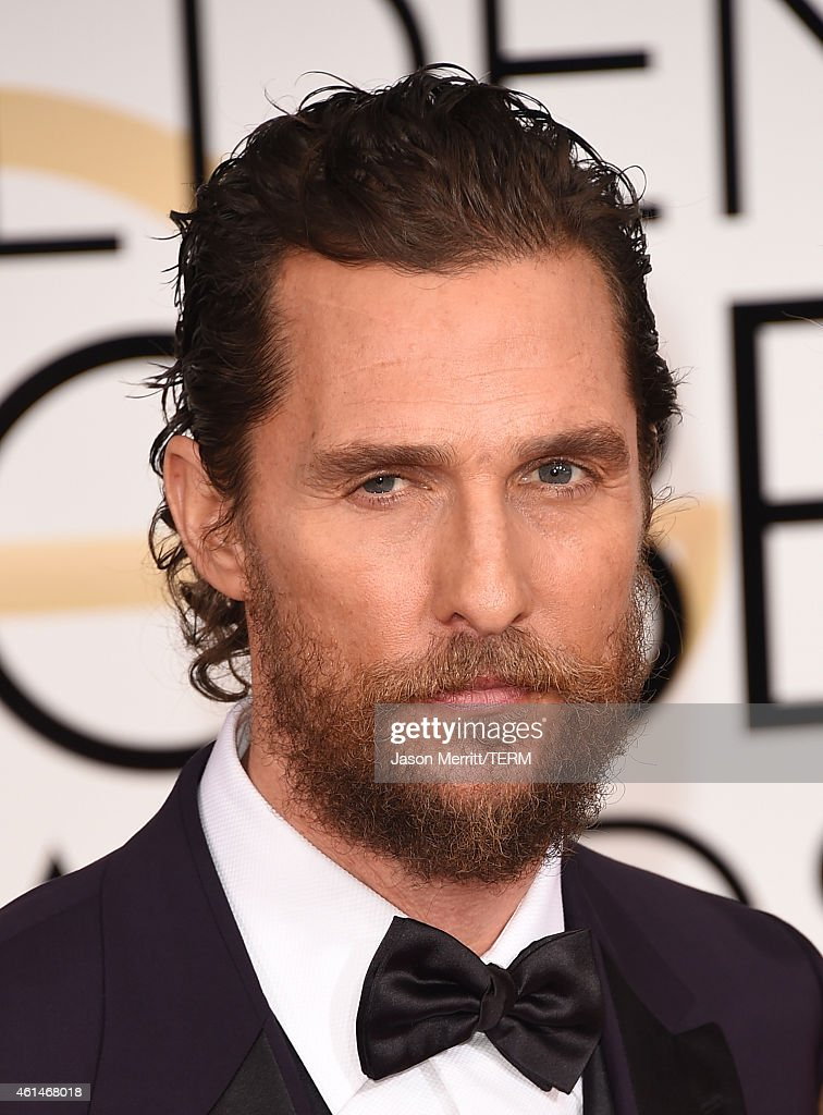 Actor Matthew McConaughey attends the 72nd Annual Golden Globe Awards at The Beverly Hilton Hotel on January 11, 2015 in Beverly Hills, California.