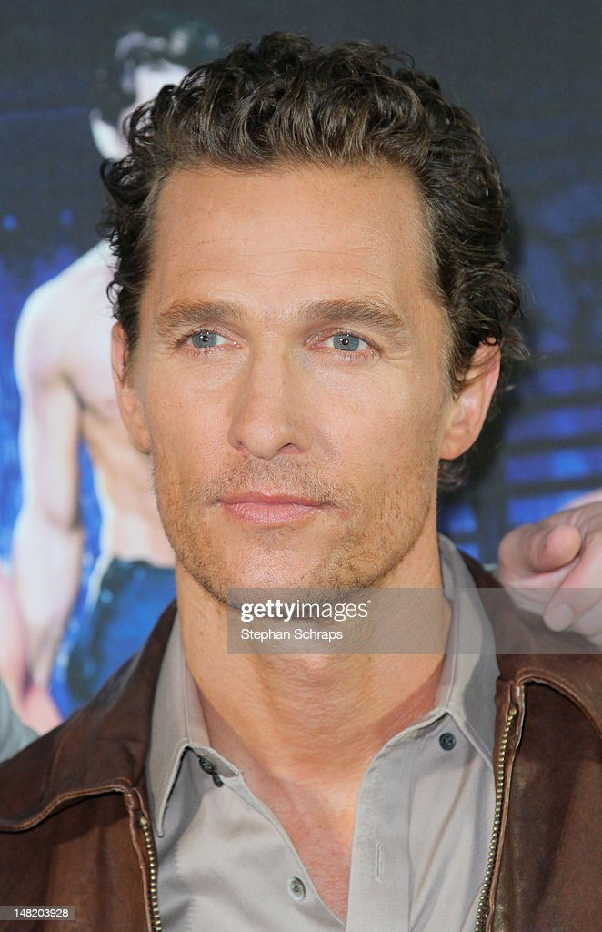 Actor <a gi-track='captionPersonalityLinkClicked' href=/galleries/search?phrase=Matthew+McConaughey&family=editorial&specificpeople=201663 ng-click='$event.stopPropagation()'>Matthew McConaughey</a> attends the 'Magic Mike' photocall at the Hotel De Rome on July 12, 2012 in Berlin, Germany.