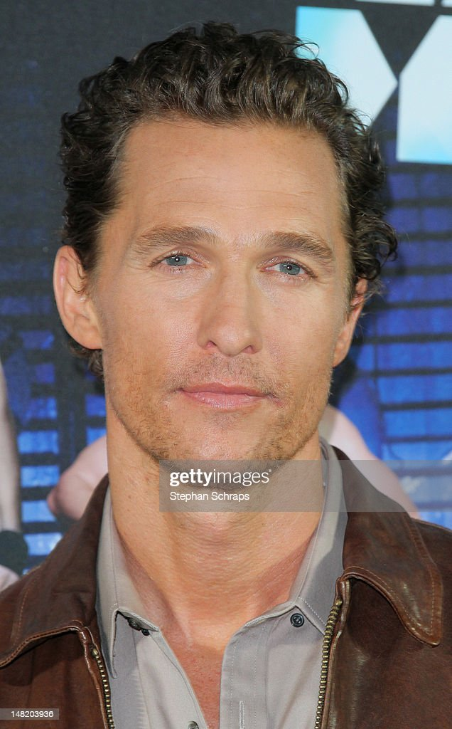 Actor Matthew McConaughey attends the 'Magic Mike' photocall at the Hotel De Rome on July 12, 2012 in Berlin, Germany.