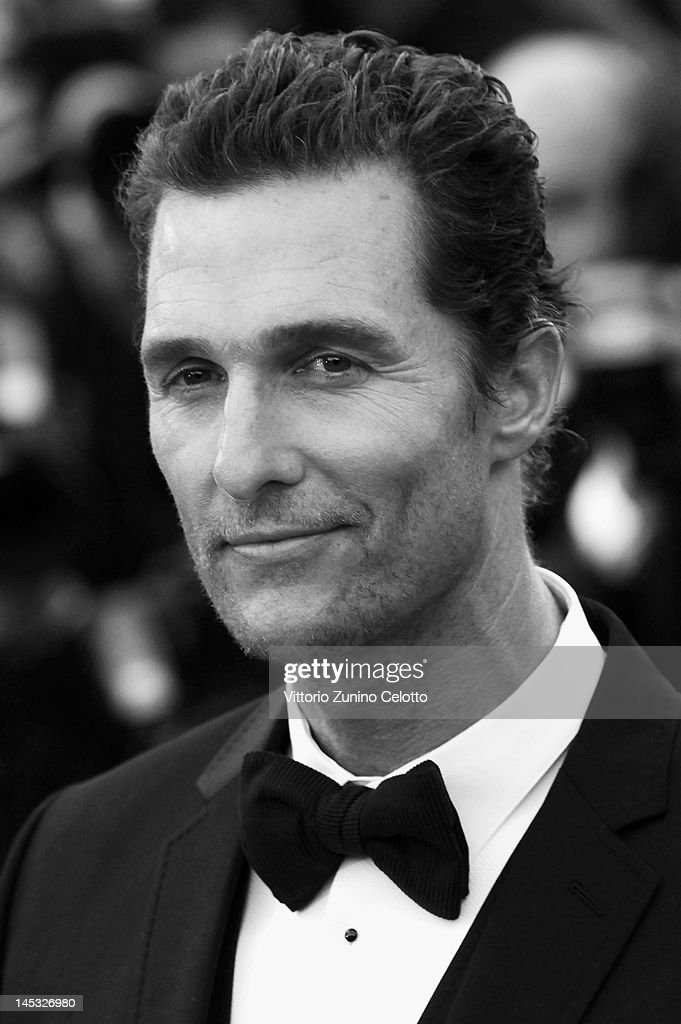 Actor <a gi-track='captionPersonalityLinkClicked' href=/galleries/search?phrase=Matthew+McConaughey&family=editorial&specificpeople=201663 ng-click='$event.stopPropagation()'>Matthew McConaughey</a> attends the 'Mud' Premiere during the 65th Annual Cannes Film Festival at Palais des Festivals on May 26, 2012 in Cannes, France.
