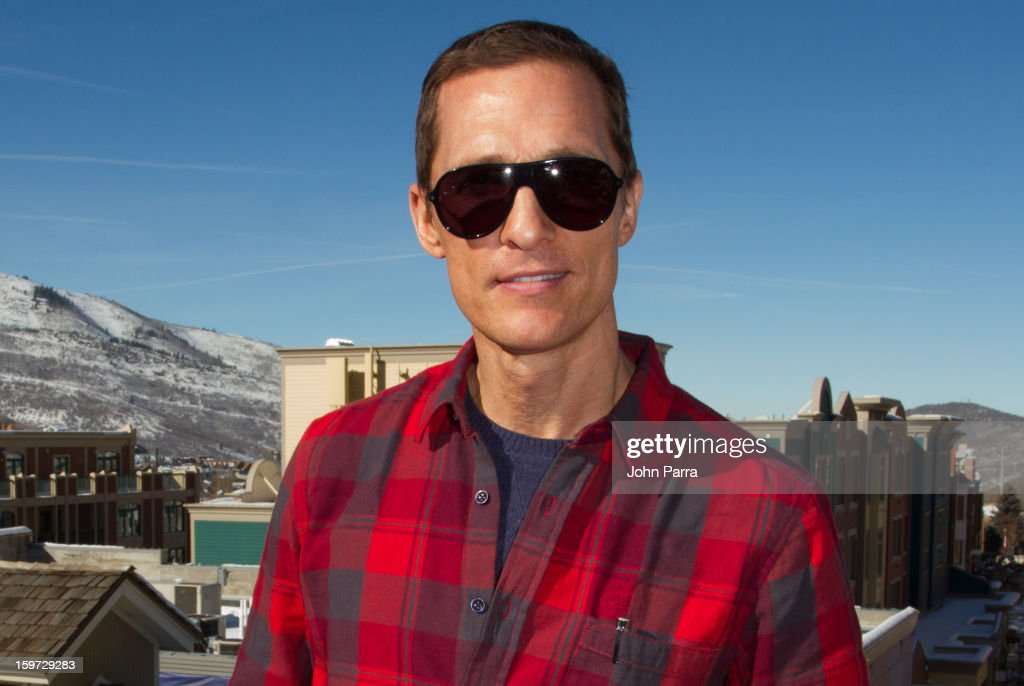 Actor Matthew McConaughey attends the Nikki Beach pop-up lounge & restaurant at Sundance on January 19, 2013 in Park City, Utah.