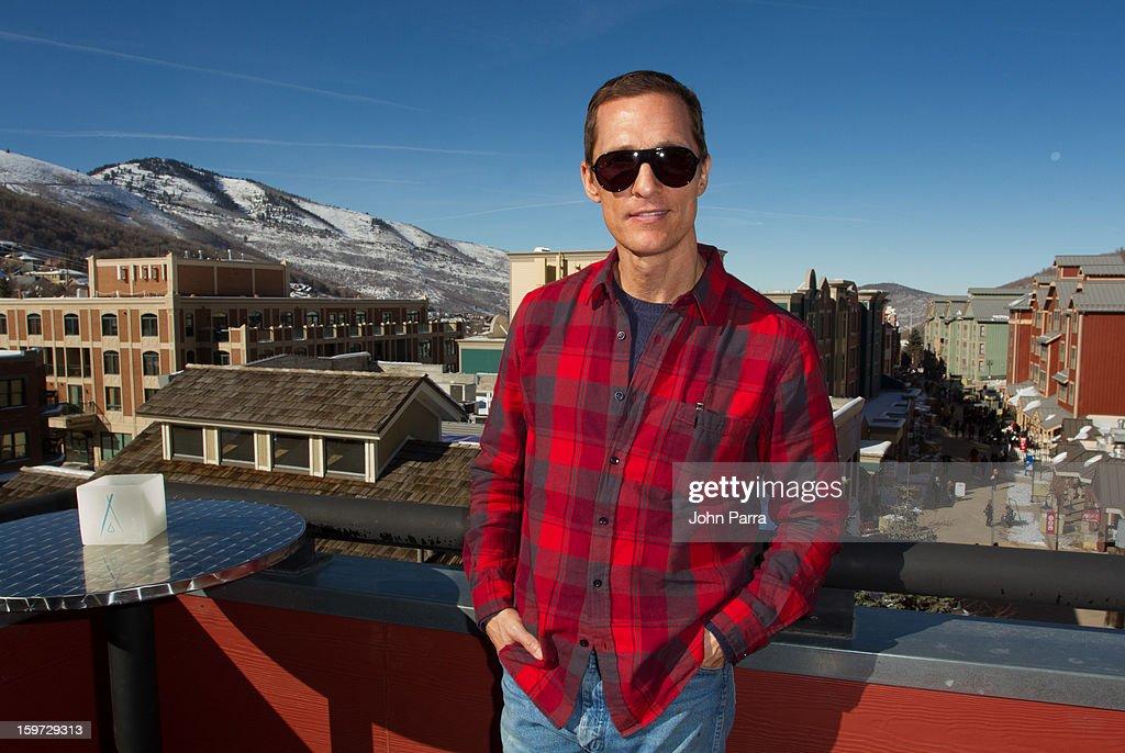 Actor Matthew McConaughey attends the Nikki Beach pop-up lounge & restaurant at Sundance on January 19, 2013 in Park City, Utah.
