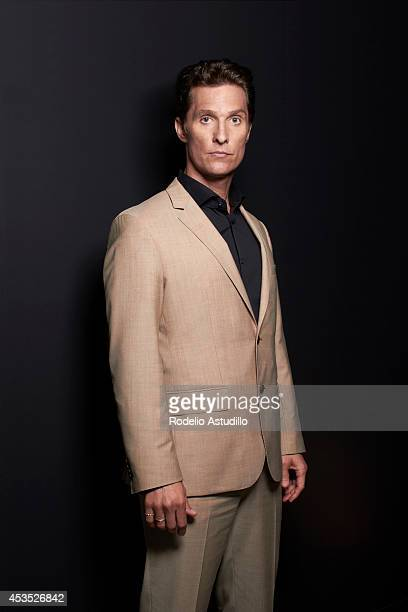 Actor Matthew McConaughey is photographed for Fandango on February 25 in Los Angeles California