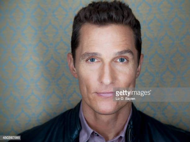 Actor Matthew Mcconaughey is photographed for Los Angeles Times on October 12 2013 in Beverly Hills California PUBLISHED IMAGE CREDIT MUST READ Liz...