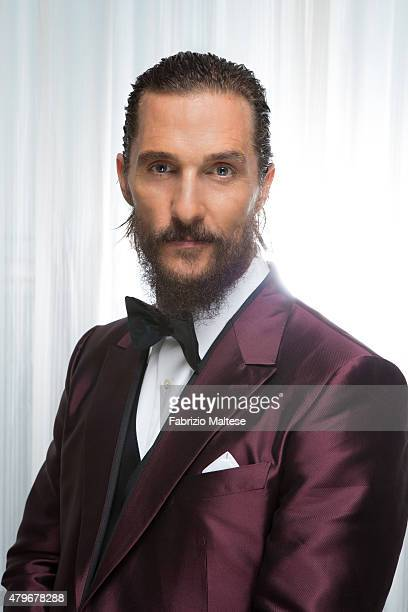 Actor Matthew McConaughey is photographed for The Hollywood Reporter on May 15 2015 in Cannes France **NO SALES IN USA TILL AUGUST 28 2015**