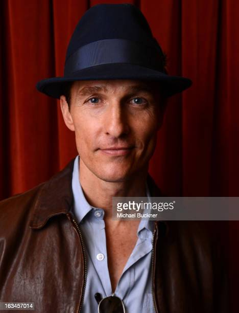 Actor Matthew McConaughey poses for a portrait at the 'Mud' screening at the 2013 SXSW Music Film Interactive Festival at the Paramount Theatre on...