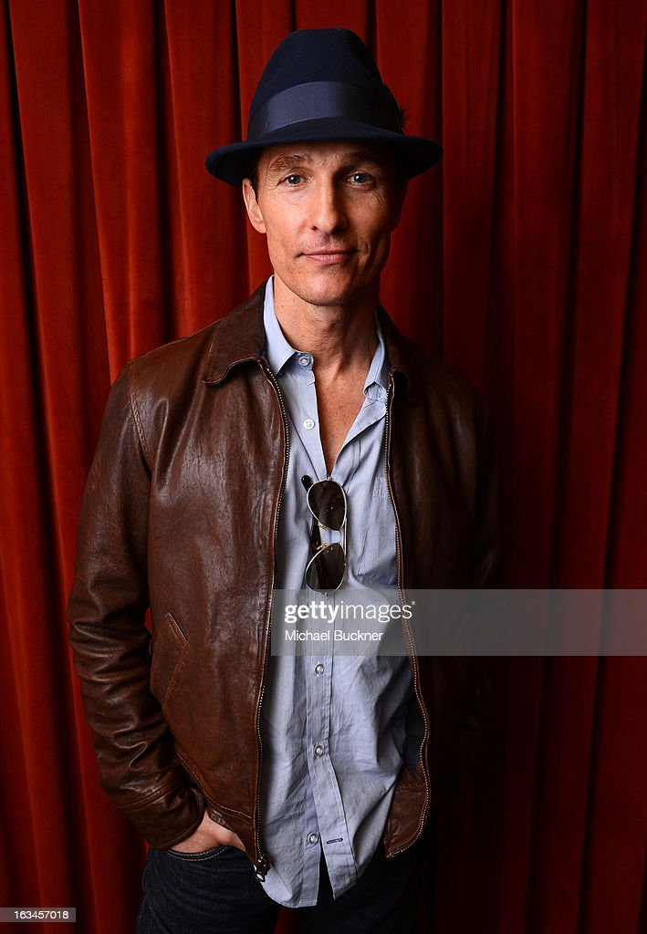 Actor <a gi-track='captionPersonalityLinkClicked' href=/galleries/search?phrase=Matthew+McConaughey&family=editorial&specificpeople=201663 ng-click='$event.stopPropagation()'>Matthew McConaughey</a> poses for a portrait at the 'Mud' screening at the 2013 SXSW Music, Film + Interactive Festival at the Paramount Theatre on March 10, 2013 in Austin, Texas.