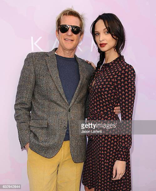 Actor Matthew Modine and actress Ruby Modine attend Variety's celebratory brunch event for awards nominees benefitting Motion Picture Television Fund...